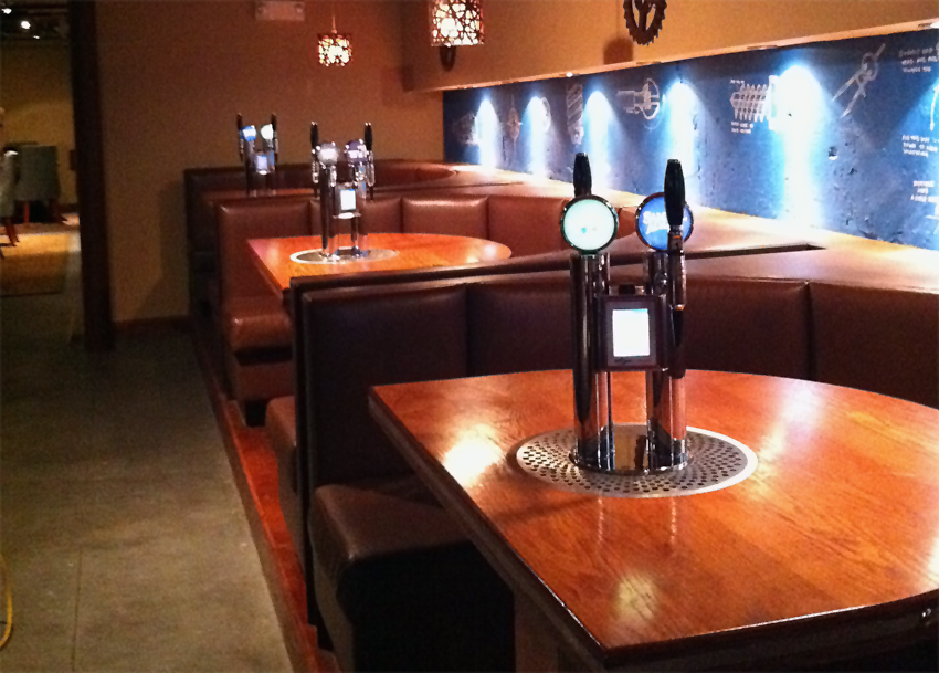 The Draft Master Table Tap By Ellickson Usa