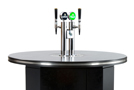 Beer Tower on black Automated Pub Table
